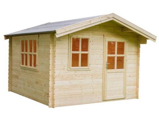 Gartenhäuser & Carports » Holzhäuser 28   38 mm » Gartenhaus