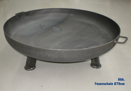 massive feuerschale ca 140 cm gewicht ca 105 kg 6 mm. Black Bedroom Furniture Sets. Home Design Ideas