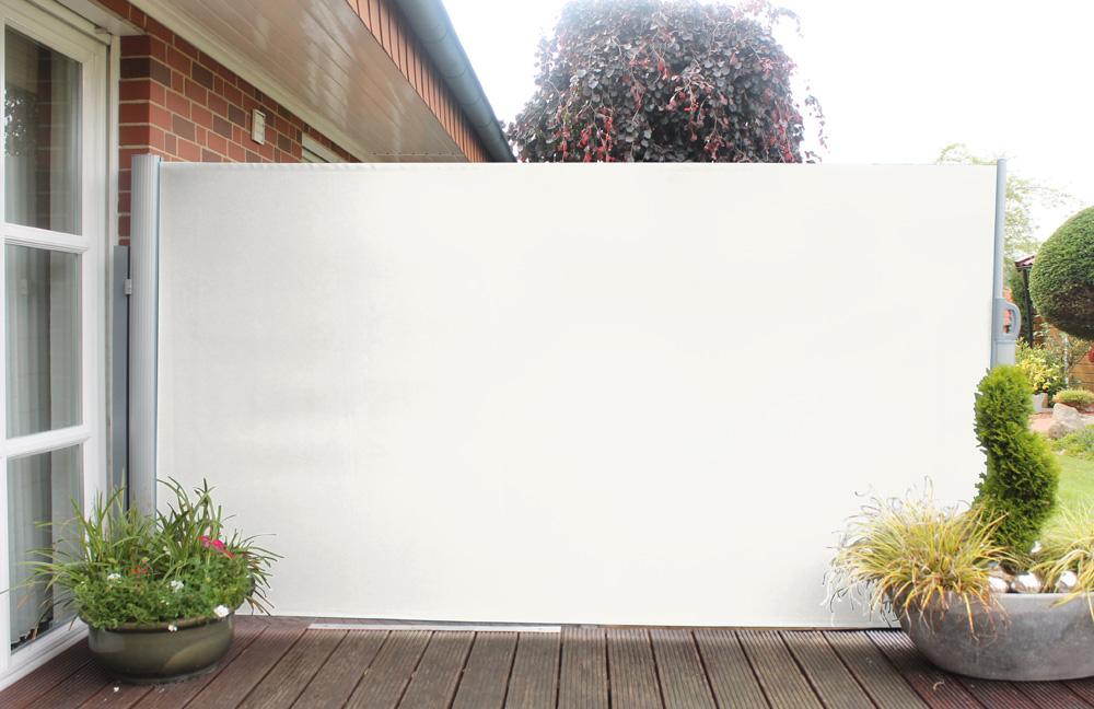 leco seitenmarkise natur h 160 x l 300 cm art 24300103 sichtschutz derbaumarktshop. Black Bedroom Furniture Sets. Home Design Ideas