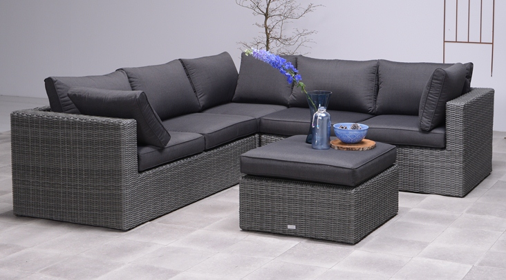 garden impressions lounge set silverbird 4tlg earl grey anthrazit 05828so gartenm bel sets. Black Bedroom Furniture Sets. Home Design Ideas
