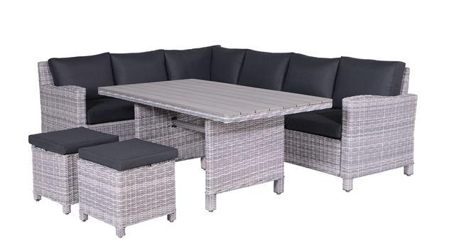 garden impressions lounge set vancouver cloudy grey. Black Bedroom Furniture Sets. Home Design Ideas