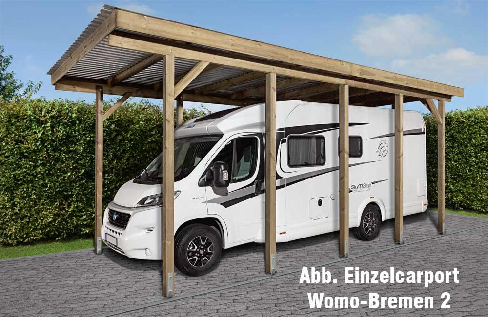 Wohnmobil doppelcarport womo hamburg 1 604 x 504 x 306 cm for Wohnmobil carports