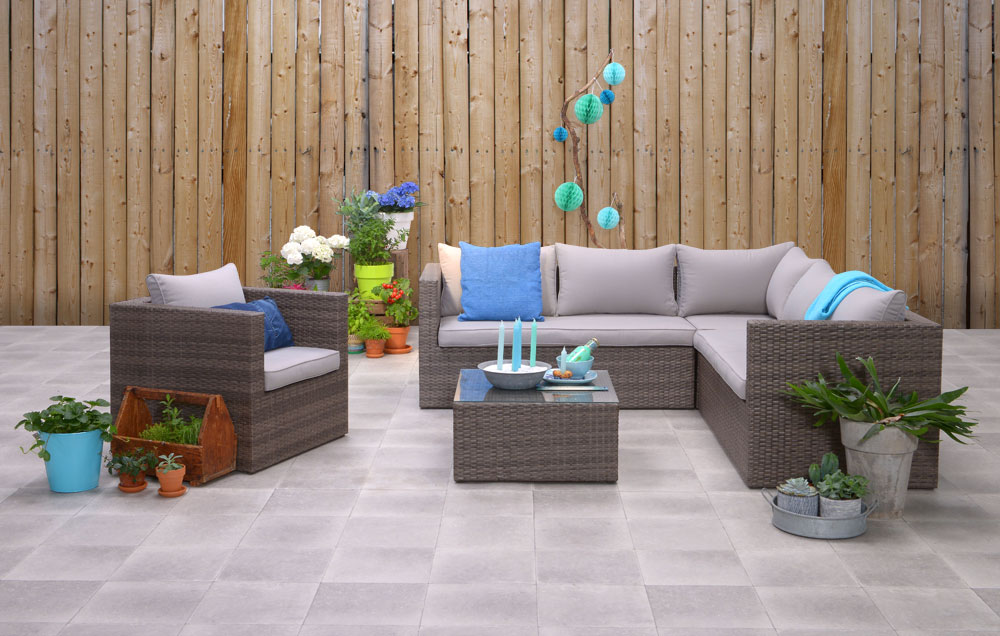 Garden impressions dining lounge hohe dining poly rattan lounge