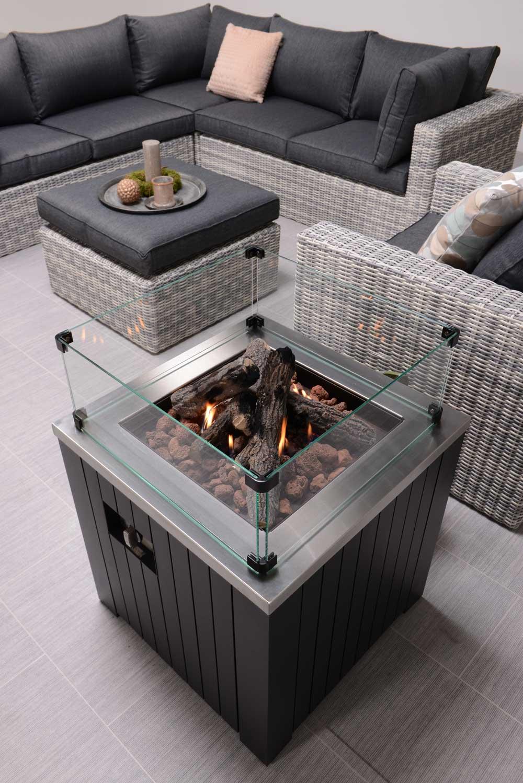 Garden Impression Cozy Living Feuerstelle Faro 60 X 60 Cm   Art. 82500