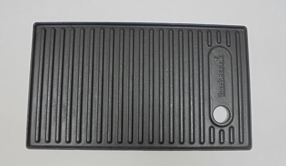 gusseiserne grillplatte 24 x 42 cm f r barbecook gasgrill. Black Bedroom Furniture Sets. Home Design Ideas