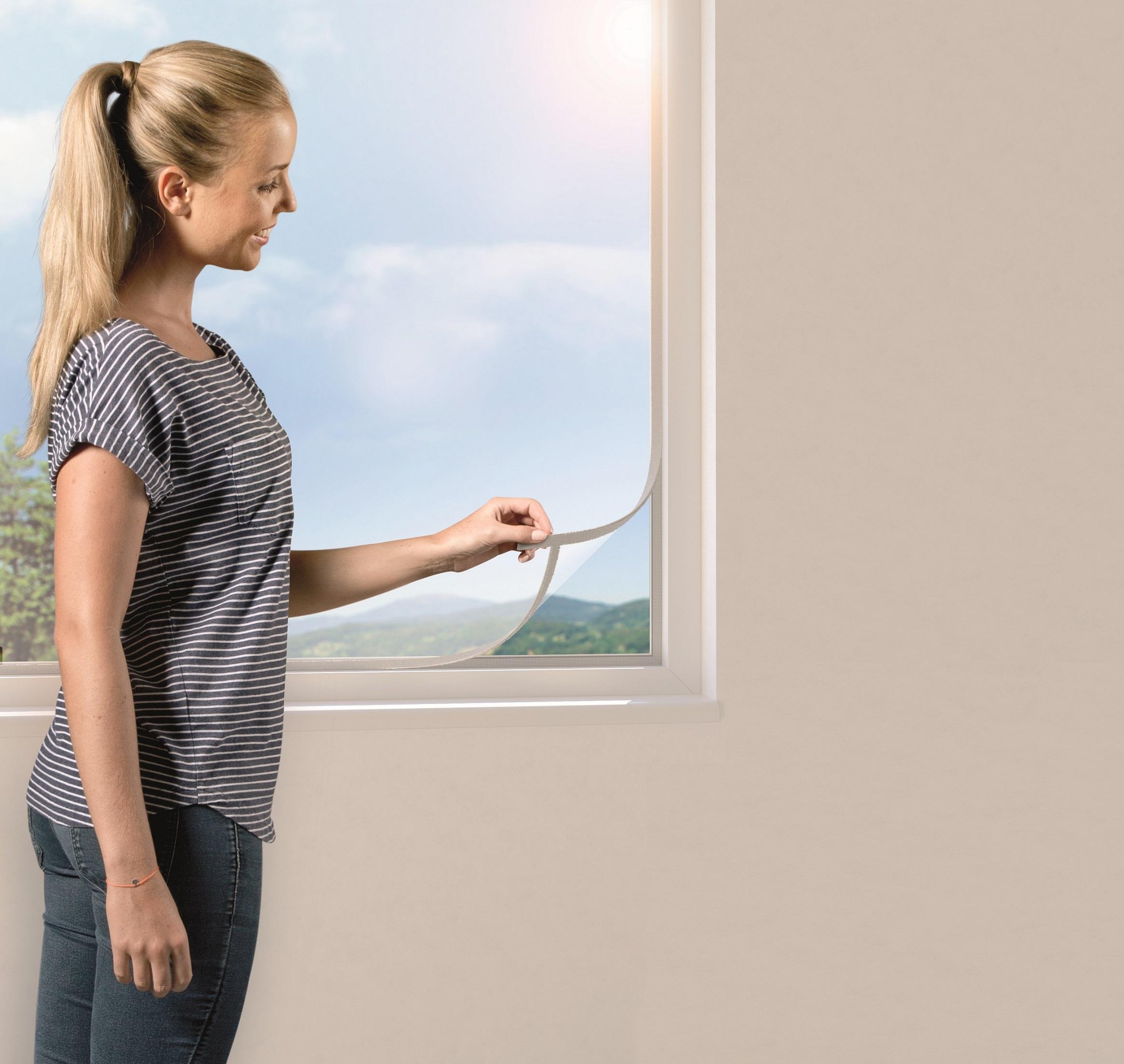 windhager insect stop open up fliegengitter max 130 x 150cm wei fliegengitter. Black Bedroom Furniture Sets. Home Design Ideas