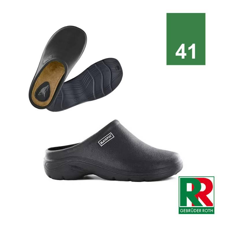 Gartenclogs Damen und Herren, schwarz, Größe 41 » Schuhe