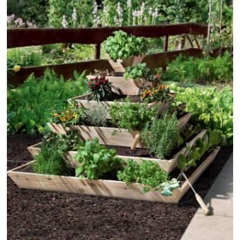 Pflanzen Beete Pflanzhilfen Mr Gardener Hochbeet Larche B 120
